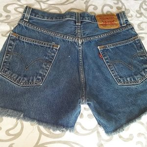 505 Levi cutoffs